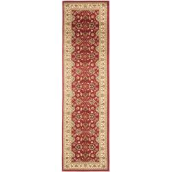 Lyndhurst Traditions Red/ Ivory Rug (2'3 x 16')