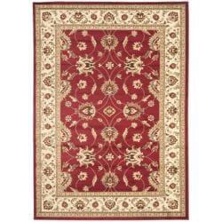 Safavieh Lyndhurst Traditions Red/ Ivory Rug (5'3 x 7'6)