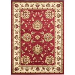 Safavieh Lyndhurst Traditions Red/ Ivory Rug (6'7 x 9'6)