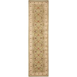Lyndhurst Traditions Green/ Ivory Rug (2'3 x 16')