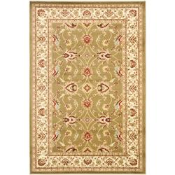 Lyndhurst Traditions Green/ Ivory Rug (3'3 x 5'3)