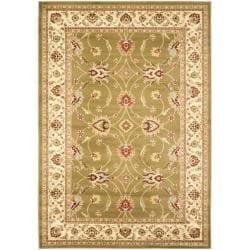 Lyndhurst Traditions Green/ Ivory Rug (5'3 x 7'6)