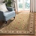Safavieh Lyndhurst Traditions Green/ Ivory Rug (5'3 x 7'6)