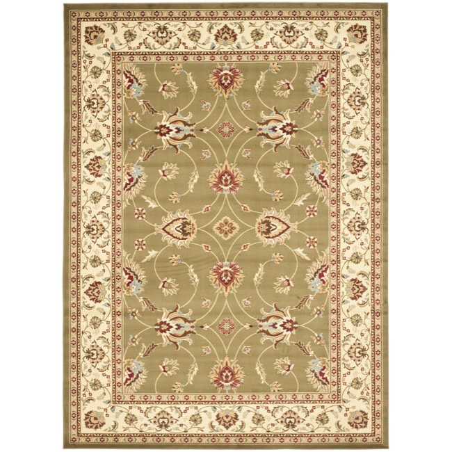 Safavieh Lyndhurst Traditions Green/ Ivory Rug (9' x 12')