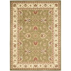 Lyndhurst Traditions Green/ Ivory Rug (9' x 12')