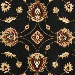 Safavieh Lyndhurst Traditions Black/ Ivory Rug (6'7 Square)