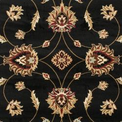 Safavieh Lyndhurst Traditions Black/ Ivory Rug (6'7 x 9'6)