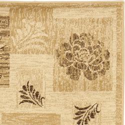 Safavieh Lyndhurst Floral Panels Ivory Rug (2'3 x 12')