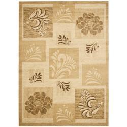 Safavieh Lyndhurst Floral Panels Ivory Rug (9' x 12')