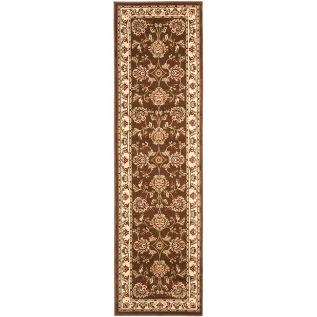 Safavieh Lyndhurst Tabriz Brown/ Ivory Rug (2'3 x 12')