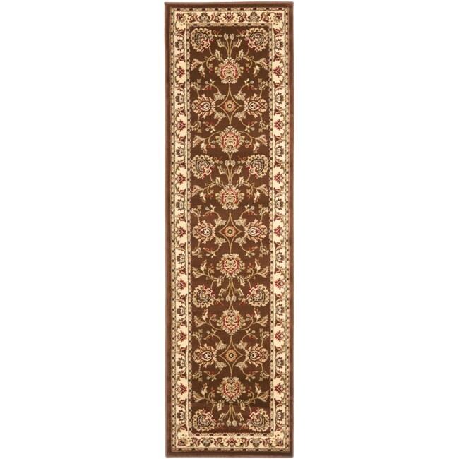 Safavieh Lyndhurst Tabriz Brown/ Ivory Rug (2'3 x 16')