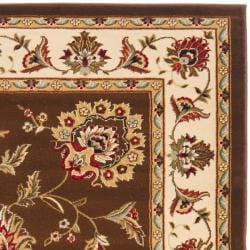 Safavieh Lyndhurst Tabriz Brown/ Ivory Rug (3'3 x 5'3)