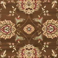 Safavieh Lyndhurst Tabriz Brown/ Ivory Rug (8' x 11')