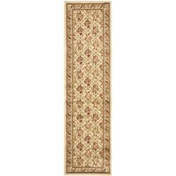 Lyndhurst Floral Trellis Ivory/ Ivory Rug (2'3 x 8')