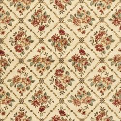 Safavieh Lyndhurst Floral Trellis Ivory Rug (9' x 12')
