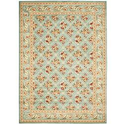 Safavieh Lyndhurst Floral Trellis Blue Rug (6'7 x 9'6)