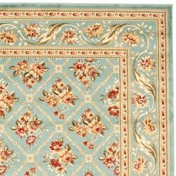 Safavieh Lyndhurst Floral Trellis Blue Rug (9' x 12')