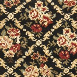 Safavieh Lyndhurst Floral Trellis Black Rug (2'3 x 16')