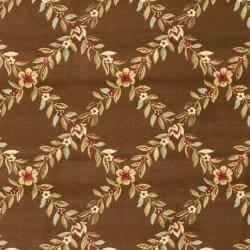Safavieh Lyndhurst Trellis Gardens Brown Rug (9' x 12')
