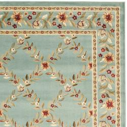 Safavieh Lyndhurst Trellis Gardens Blue Rug (9' x 12')
