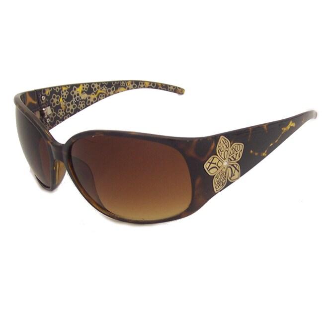XOXO Women's Tortoise Plastic Fashion UV Sunglasses