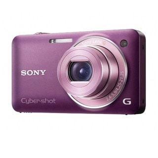 Sony Cyber-shot DSC-WX5 12.1MP Violet Digital Camera