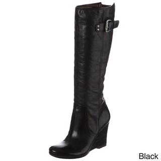 Naya Women's 'Quail' Knee-high Zipper Detail Boots FINAL SALE