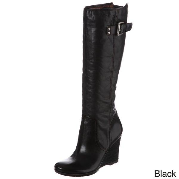 Naya Women's 'Quail' Knee-high Zipper Detail Boots FINAL SALE