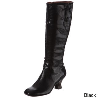 Naya Women's 'Dalia' Leather Knee-high Boots