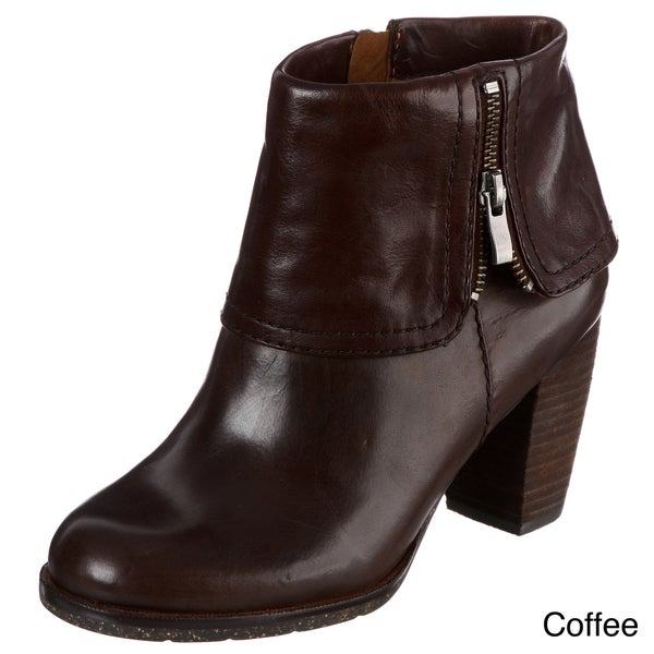 Naya Women's 'Lark' Leather Ankle Boots