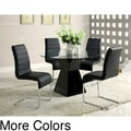 Furniture of America 'Athena' 5-piece High-Gloss Dining Set