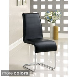 Alta Leatherette Dining Chairs (Set of 4)