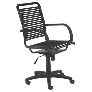 Bungie Flat High Back Black/ Graphite Black Office Chair