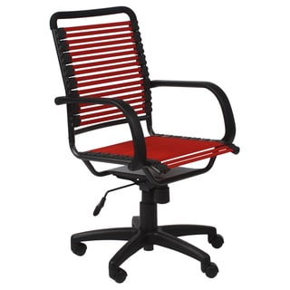 Bungie Flat High Back Red/ Graphite Black Office Chair