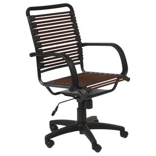 Bungie Flat High Back Brown/ Graphite Black Office Chair