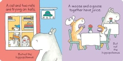 But Not the Hippopotamus (Board book)