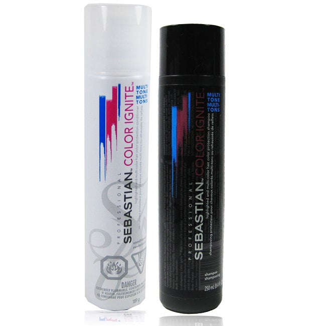 Sebastian Multi-tone Color Ignite Shampoo and Conditioner Set