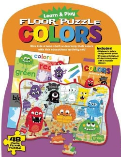Learn & Play Floor Puzzle Colors: Give Kids a Head Start on Learning Their Colors With This Educational Activity Set!