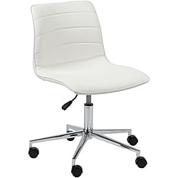 Ashton White Office Chair