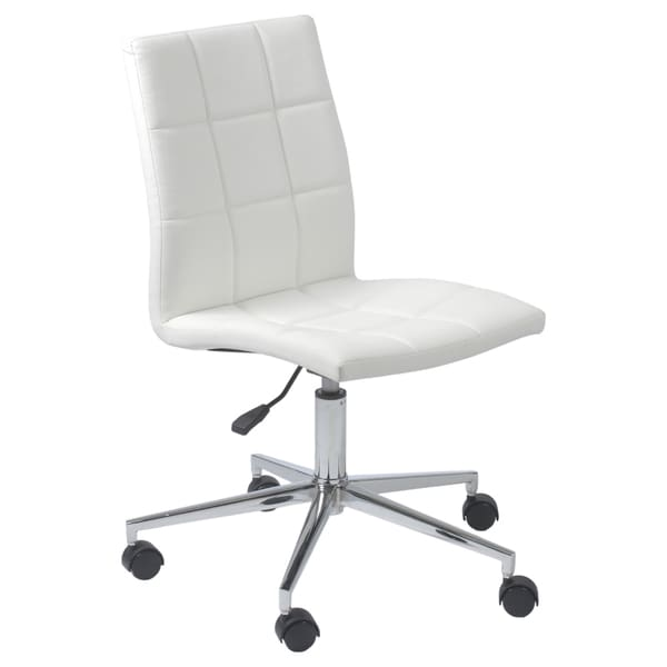 CYD White Office Chair