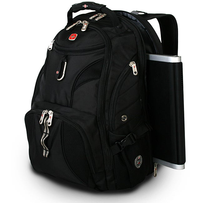 Wenger Swiss Gear Black ScanSmart 17-inch Laptop Backpack