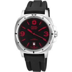 Wenger Men's Expedition Black Dial Red Accent Watch
