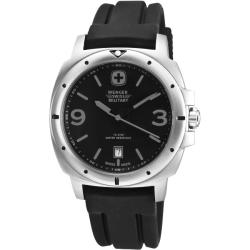 Wenger Men's Expedition Black Dial Grey Accent Watch