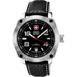 Wenger Men's Outback Black Dial Black Accents Watch