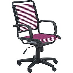 Graphite Black/ Pink Steel Office Chair