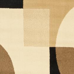 Safavieh Porcello Deco Brown/ Multi Rug (2'7 x 5')