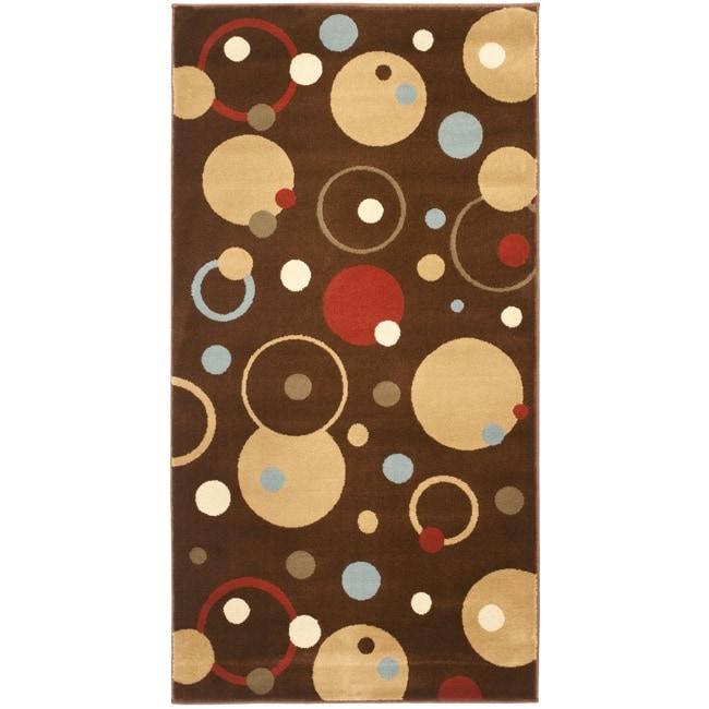 Safavieh Porcello Cosmos Brown Rug (2'7 x 5')