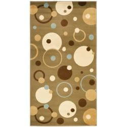 Safavieh Porcello Cosmos Green Rug (2' x 3'7)
