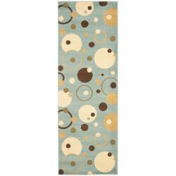Porcello Cosmos Blue Rug (2'4 x 9')