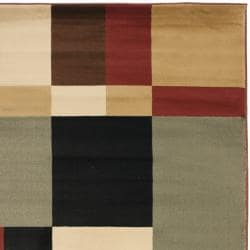 Porcello Waves Patchwork Rug (4' x 5'7)